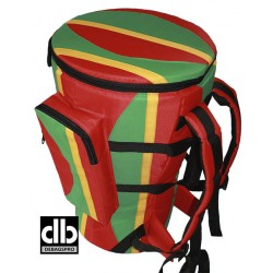 Classic djembe strap African Motiv