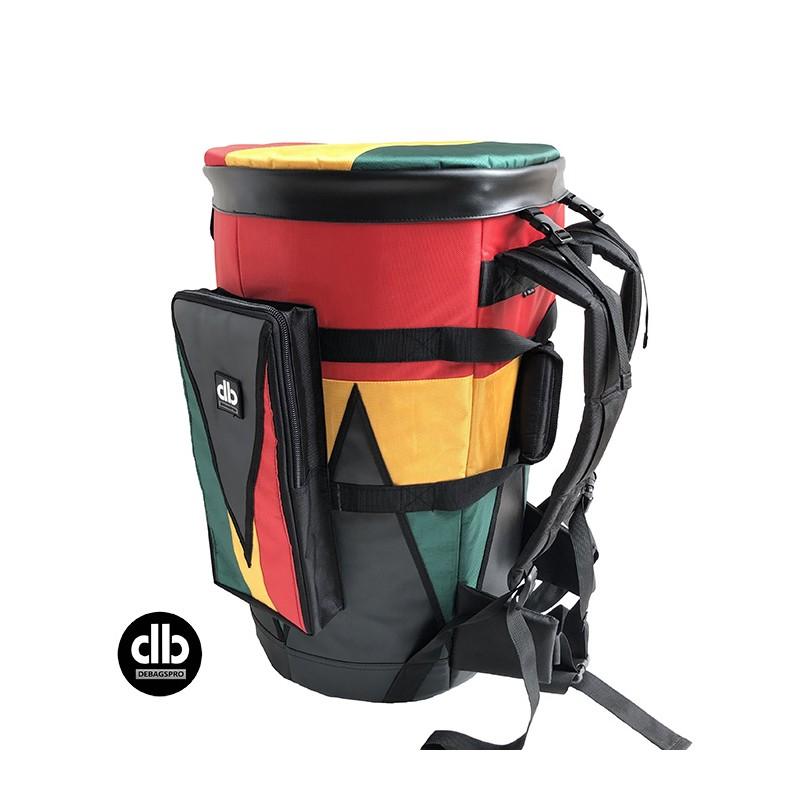Djembe Bag Premium Rasta With Syntetic